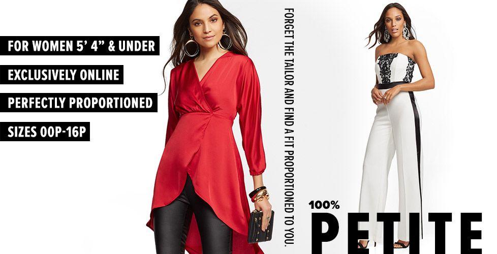 Women S Petite Clothing Petite Fashion Ny C