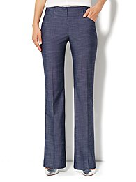 7th Avenue Bootcut Pant - Dark Blue - Average