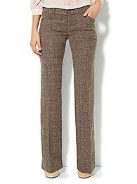 7th Avenue Bootcut Pant - Heritage Tweed