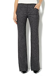 7th Avenue Bootcut Pant - Tweed - Average