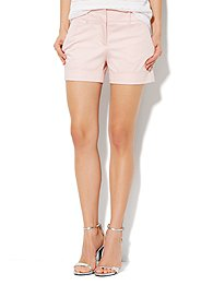 7th Avenue Cuffed Short - Solid
