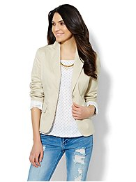 7th Avenue Design Studio Jacket - Cotton