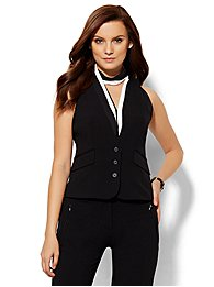 7th Avenue Design Studio Vest - Modern Fit - Double Stretch