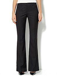7th Avenue Pant - Signature Fit - Bootcut - Pinstripe