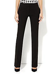 7th Avenue Straight Leg Pant - Black - Average