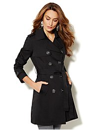 7th Avenue Trench Coat