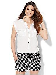 7th-avenue-design-studio-double-pocket-blouse