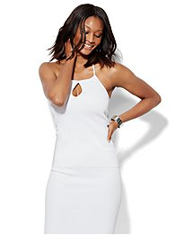 7th-avenue-design-studio-keyhole-halter-sweater-paper-white-