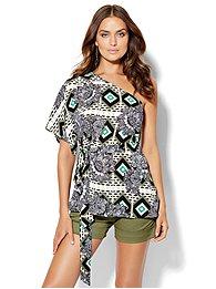7th-avenue-design-studio-one-shoulder-blouse-print-
