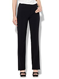 7th avenue design studio pant - signature - universal fit - straight leg - double stretch
