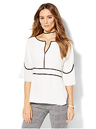 7th-avenue-design-studio-piped-bell-sleeve-blouse-