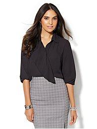 7th-avenue-design-studio-ruffle-trim-blouse-
