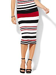 7th-avenue-design-studio-sweater-pencil-skirt-dark-red-stripe-