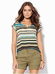 7th-avenue-design-studio-v-neck-blouse-stripe-