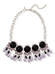 Baubles & Beaded Bib Necklace