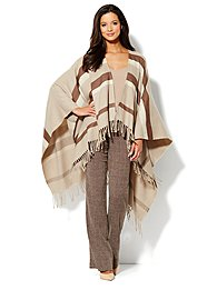 Blanket Cape - Stripe