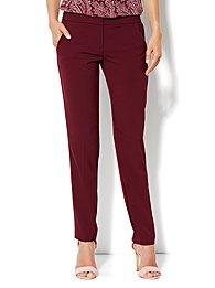 City Crepe - Slim Leg Soft Trouser Pant