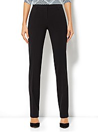 Crosby Street City Double Stretch Slim Pant - Average