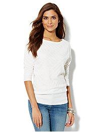 Dolman-Sleeve Sweater