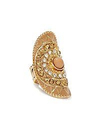 Embellished Stretch Knuckle Ring