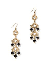 Eva Mendes Collection - Beaded Chandelier Earring