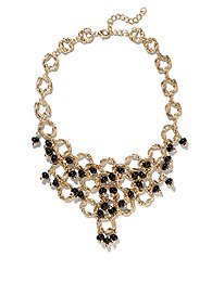 Eva Mendes Collection - Cabochon Bib Necklace
