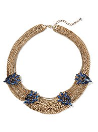 Eva Mendes Collection - Embellished Chain Necklace
