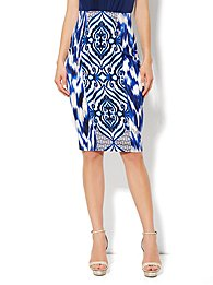 Eva Mendes Collection - Emma Pencil Skirt - Printed