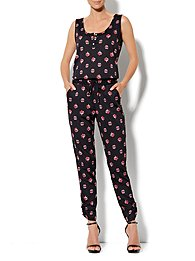 Eva Mendes Collection - Jodie Print Jumpsuit
