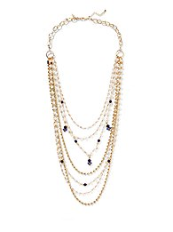 Eva Mendes Collection - Long Layered Necklace