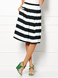 Eva Mendes Collection - Maddie Skirt - Striped