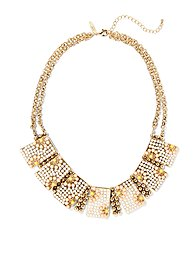 Eva Mendes Collection - Metallic Geo Collar Necklace