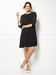 Eva Mendes Collection - Sabrina Dress - Solid