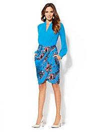 Eva Mendes Collection - Scarlet Petal Skirt