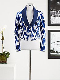 Eva Mendes Collection - Shawl-Collar Jacket