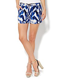 Eva Mendes Collection - Soft Printed Short