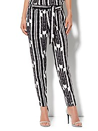 Eva Mendes Collection - Soft Tie-Waist Pant