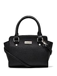Faux-Leather Crossbody Mini Bag