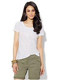 Lace-Applique Tee