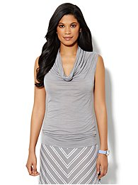 Love, NY&C Collection - Cowl-Neck Tank
