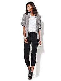 Love, NY&C Collection - Herringbone Flyaway Sweater