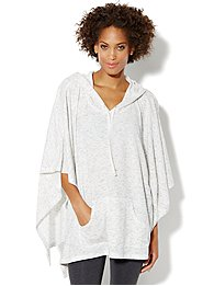 Love, NY&C Collection - Hooded Poncho
