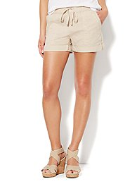 Love, NY&C Collection - Linen Drawstring Short