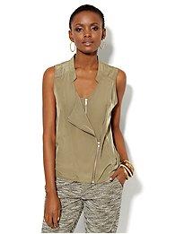Love, NY&C Collection - Moto Vest