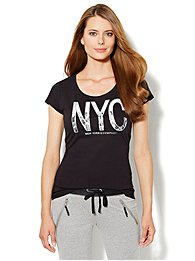 Love, NY&C Collection - NYC Logo Tee