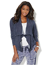 Love, NY&C Collection - Open-Front Dolman Cardigan