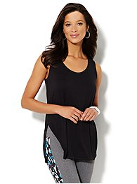 Love, NY&C Collection - Side-Slit Tunic
