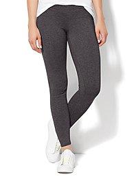 Love, NY&C Collection - Yoga Legging - Graphite Heather Grey