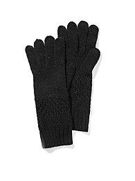 Lurex Textured Gloves