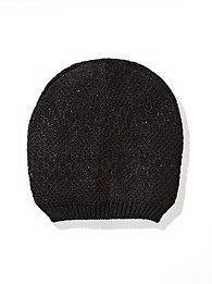 Lurex Textured Hat